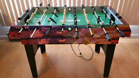 Table de jeu combo : soccer et hockey sur air