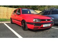 Urgent need gone Golf mk3 1997 1.4 cheap low mileage insurance clean show car