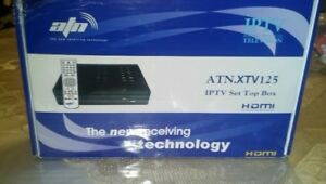 NEW-ATN XTV 125 NETWORK TV IPTV SET TOP BOX RECEIVER