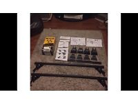 Alfa 147 roof bars (complete with box, cover key & instructions)