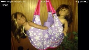 American girl tote/purse