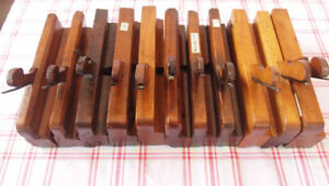 Molding planes Veritas Lee Valley Stanley Record router jointer