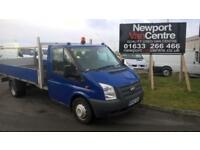 2012 62 Ford Transit 2.2TDCi 100 PS RWS DROPSIDE with taillift