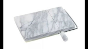 Marble Board with Cheese Slicer