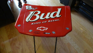NASCAR #8 DALE EARNHARDT JR BUD. HOOD FOLDING TABLE