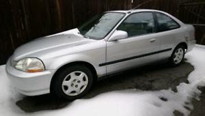 Honda Civic Si 1998 As Is