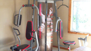 weider 9450 exercise unit