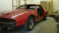 For sale 88 notchback trans am gta for parts or repair