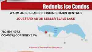 Ice fishing kijiji free classifieds in alberta find a for Ice fishing cabins alberta