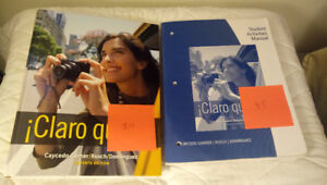 Cheap Spanish and Philosophy Textbooks LU + extras