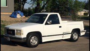 1989 GMC Sierra 350-350 short box Stepside loaded. $7000obo