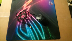 Finalmouse Ultralight ( with Zowie cable ) and Asus Strix Edge