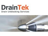 Drain unblocking, blocked sinks, showers, baths, manholes, pipes.