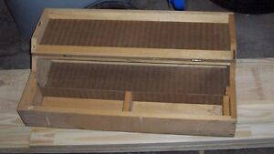 Old style wooden tool box – ONLY $20