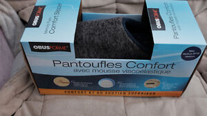 MEMORY FOAM COMFORT SLIPPERS FOR MEN size 42 - 8.5