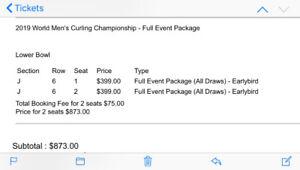 Men's World Curling Tickets