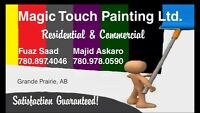 MAJIC touch painting ltd now serving fort mcmurray and area