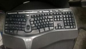 Keyboard Natural Ergonomic 4000 – Microsoft $40New in the box.