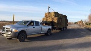 Hay and straw hauling / trucking
