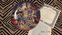 Frisky Business Collector Plate