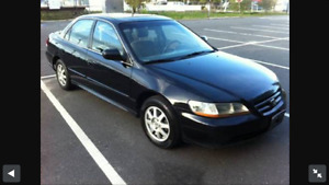 2002 Honda Accord se For sale as is