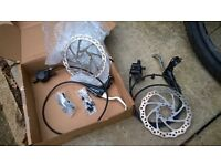 Hayes Nine Hydraulic mountain bike brake set MTB