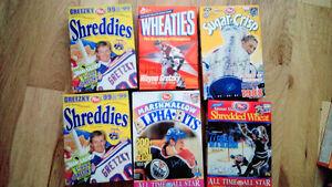 Vintage/older  Wayne Gretzky Cereal Boxes