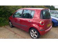 Renault modus 1.4 maxim 2005 55 reg 5 door hatchback low insurance low tax