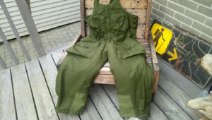 Canadian Armed Forces Gore-Tex Combat Overalls-OD Green