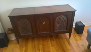 Antique Floor Stereo