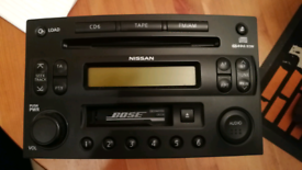 Nissan 350Z Bose CD TAPE radio