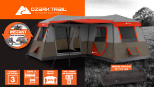 Ozark 12 Person 16'x16' Camping Tent