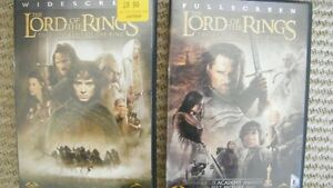 Two Lord of the Rings DVD's