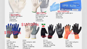 Lowest Price  Guarantee Kinds of Work Gloves All Sizes