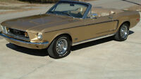 1968 Mustang 289 4 speed convertible and parts car