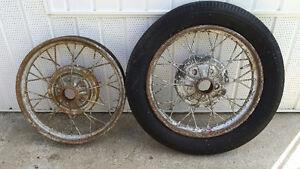 Model A 1929  Tire Rims