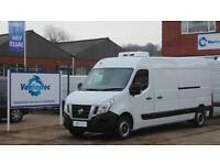 NISSAN NV400 2.3DCi 125PS SE L3 H2 Refrigerated Van With Park Sensors