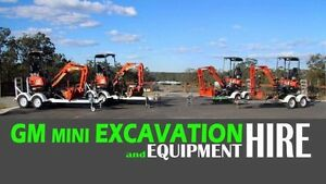 Mini Excavator hire. Best machines at cheapest prices! Greenbank Logan Area Preview