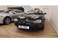 Jaguar XK8 1997 Green Convertible 4.0 Petrol Auto, Glasgow, Scotland