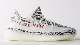 Adidas Yeezy Zebra Wanted size 13