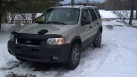 2003 Ford Escape for SALE or TRADE for firewood!