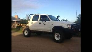 2003 1KZ-TE FACTORY TURBO TOYOTA HILUX 4WD SALE OR SWAPS Tootgarook Mornington Peninsula Preview