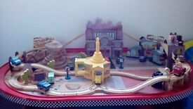 Disney Cars table and track