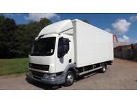 2012 DAF LF 45.160 Euro 5 7.5 tonne 20ft Box Truck 1t Tuck away Tail Lift