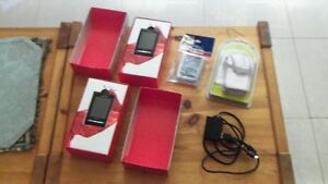 TWO SONY ERICSSON XPERIA X 10 MINI CELL PHONES