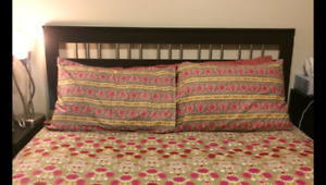 Set a room in $250 only(headboard,side tables, dresser,mattress)