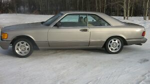 1990 Mercedes Benz 560SEC {2 Door} Coupe