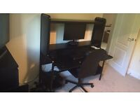 Desk and desk chair £50 ONO