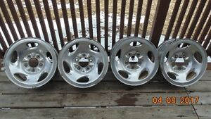 Four 17 Inch Truck Rims