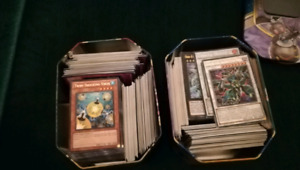 Large yugioh card collection